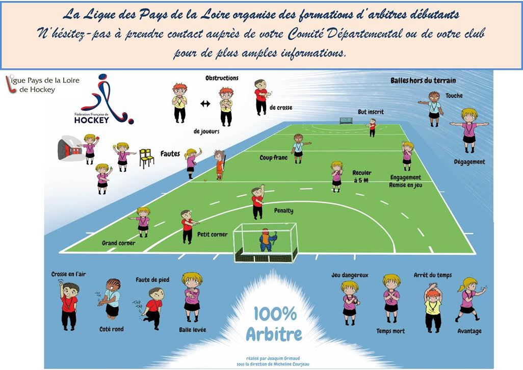 Formations arbitres débutants